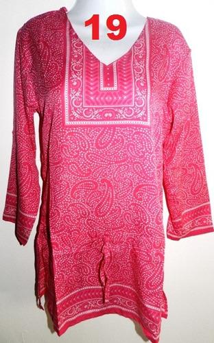 ropa playera - hindu bluson de seda, blusas, camisas