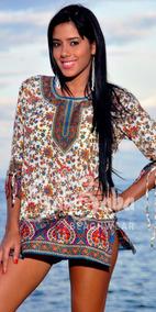 estilo de moda gran descuento captura Ropa Playera - Hindu Bluson Seda Plus, Gorditas, Grandes