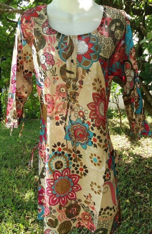 6bdc0353260e ropa playera hindú mayor bluson algodón talla m. Cargando zoom.