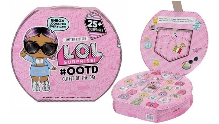 Dolls \u0026 Bears LOL SurpriseOOTD Advent Calendar Limited 25+