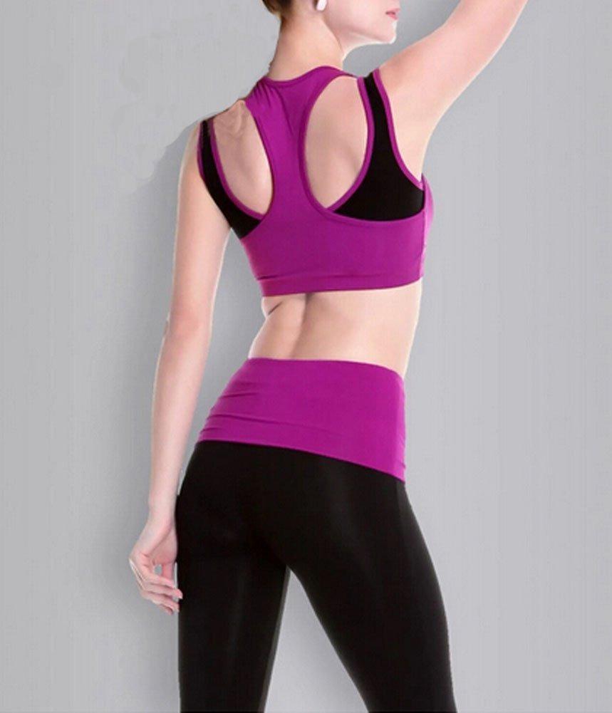 6463c1ae43b ropa sin mangas para correr   yoga para mujeres con ropa ... Cargando zoom.