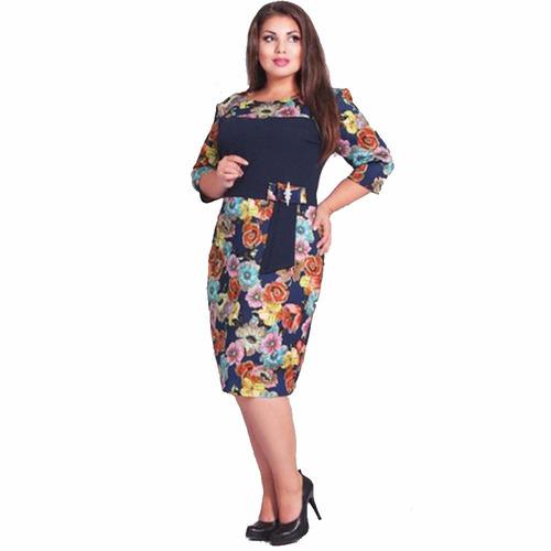 ropa talla extra: precioso vestido 4xl $330