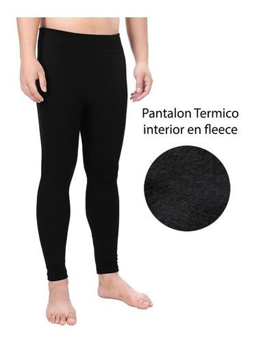 ropa termica unisex pantalon hombre  invierno frio fleece