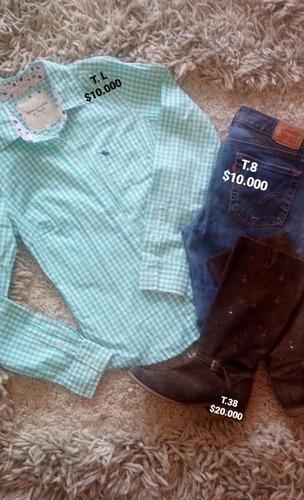 ropa usada para  dama