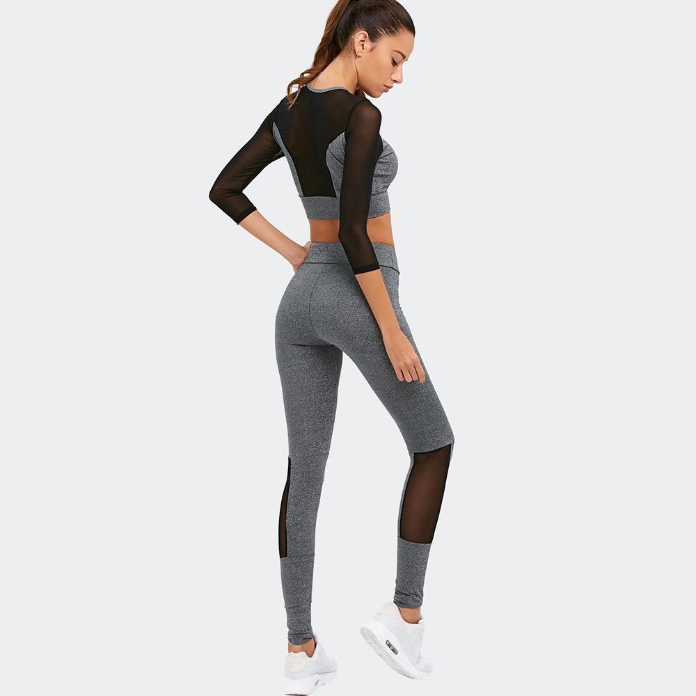 comprar popular 5acb9 c3756 Ropa Yoga Gimnasio Fitness Mujer Calidad Algodón