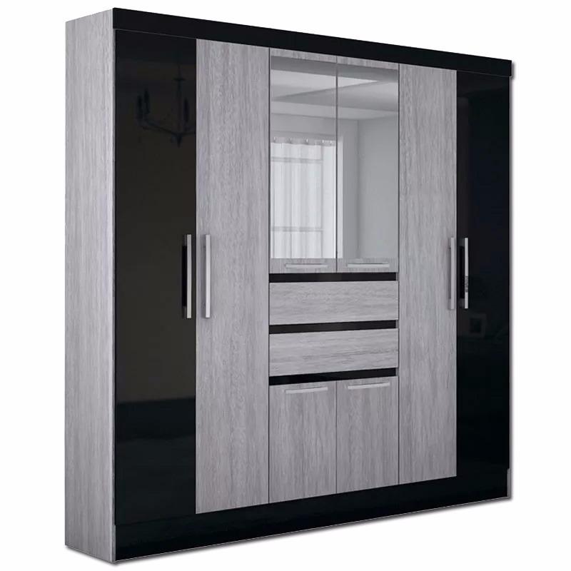 Ropero 8 Puertas Espejo- Dormitorio - Placard - Mueble - Lcm ...