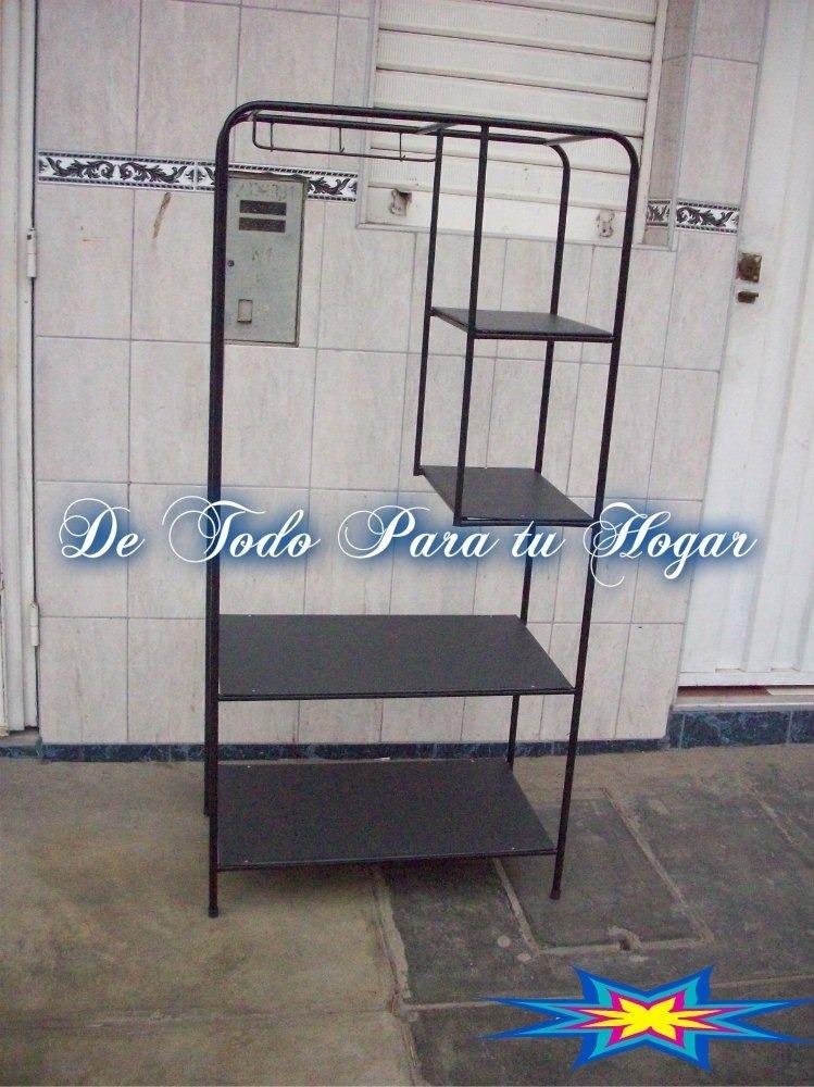 Ropero colgador para ropa con forro s 160 00 en mercado for Colgador ropa pared