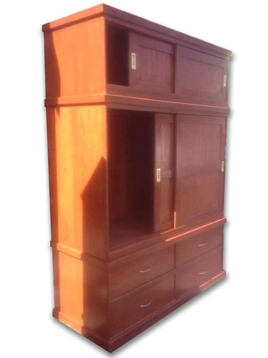 Ropero nuevo 3 piezas desmontables muebles uni n for Planos de roperos de madera