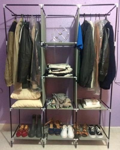 ropero, organizador, closet armable zapatera muy practico.