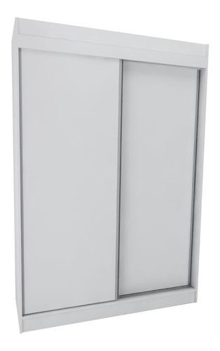 ropero placard 140 cm melamina puertas corredizas 3010+