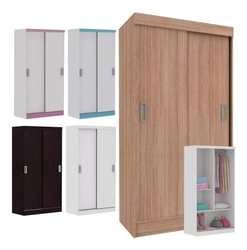 ropero placard dormitorio  2 puertas corredizas varios color