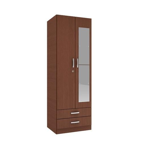 ropero placard espejos melamina puertas de abrir 60cm 617