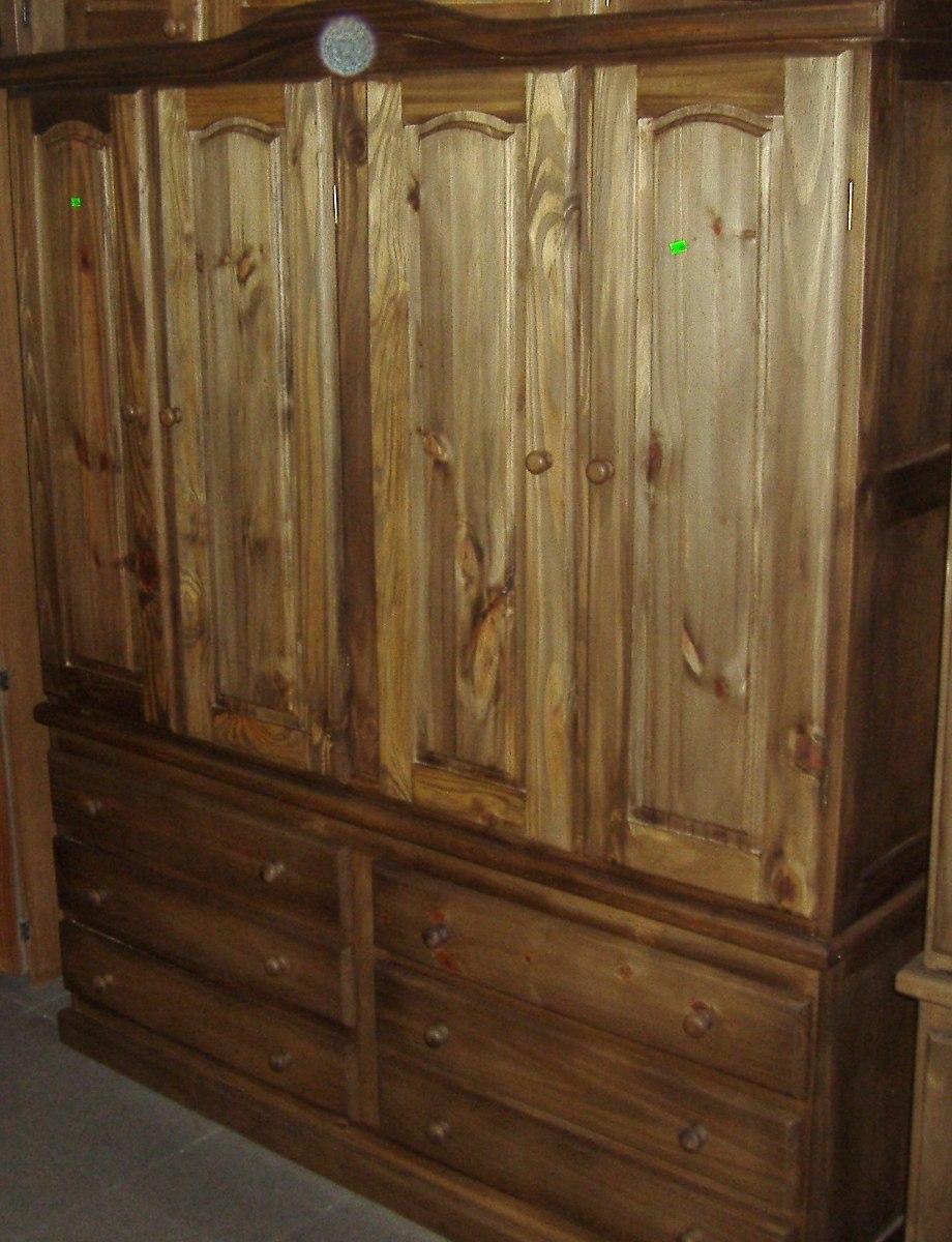 roperos de madera maciza - $ 4.500,00 en mercado libre - Imagenes De Roperos De Madera