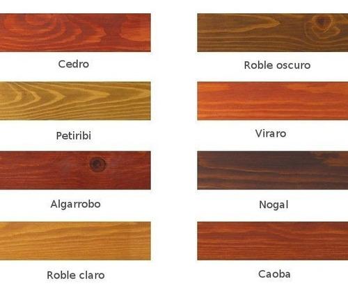 roperos placard madera 4 puertas