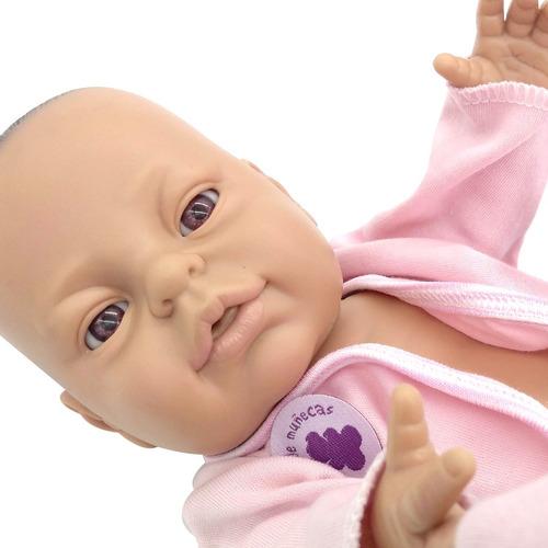 ropita bebe reborn conjunto ranita bebote mediano original
