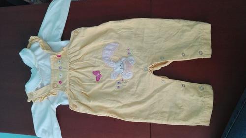 ropita de bebe, poco uso, desde 6 a 12 meses.
