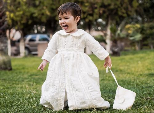 ropon español para niño | bautismo bautizo | burbvus b009