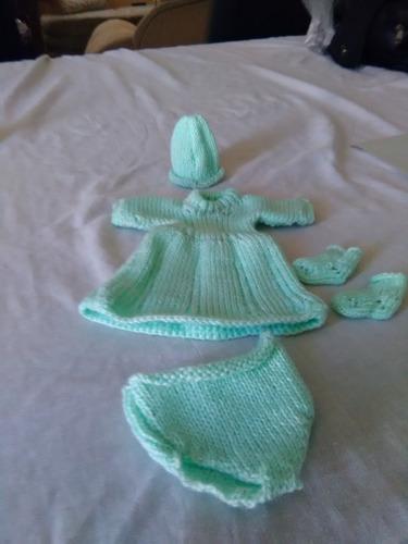 ropones para niño dios tejidos a maquina