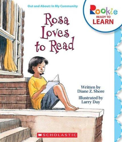 rosa ama leer (novato listo para aprender)