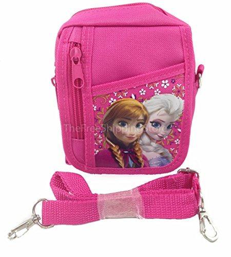rosa bolso de la cámara elsa frozen queen