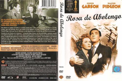rosa de abolengo dvd greer garson,  walter pidgeon