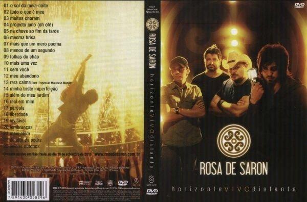 dvd do rosa de saron horizonte distante