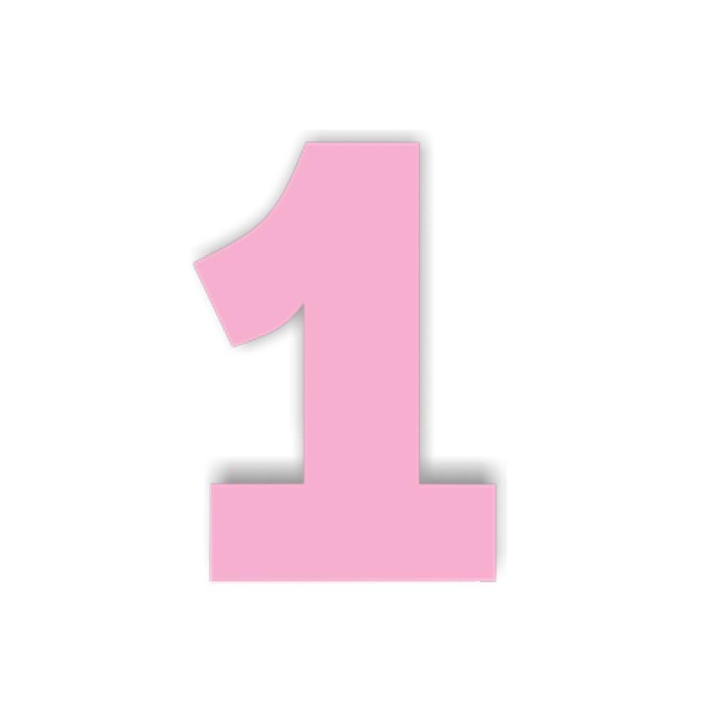 rosa numero 1 com 1 peça de 1 mt envio 48hs r 64 99 em mercado livre