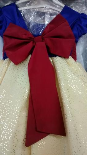 rosalinda vestido de festa princesa branca de neve