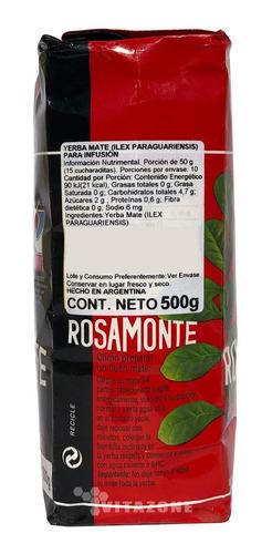 rosamonte yerba mate 500 grs