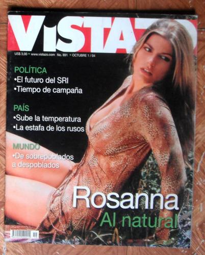 rosanna queirolo en portada revista vistazo