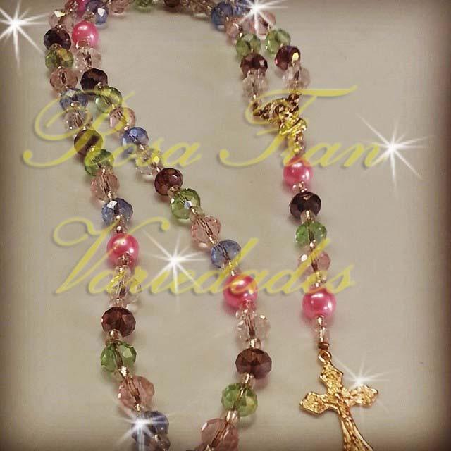 3af22158e714 Rosario Bisutería. Cristal-perla Recuerdos Comunión - Bs. 20.000