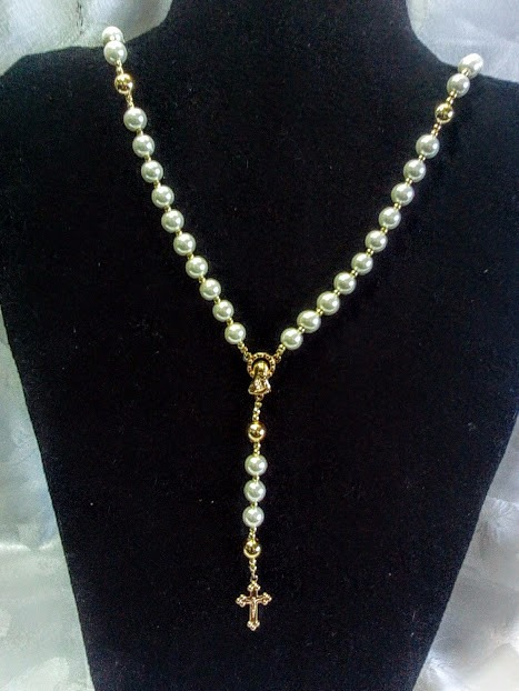 f654980c67c Rosario Bisutería. Cristal-perla Recuerdos Comunión - Bs. 18.000