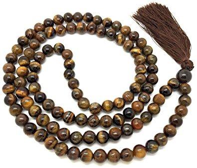 rosario budista ojo de tigre - envío gratuito