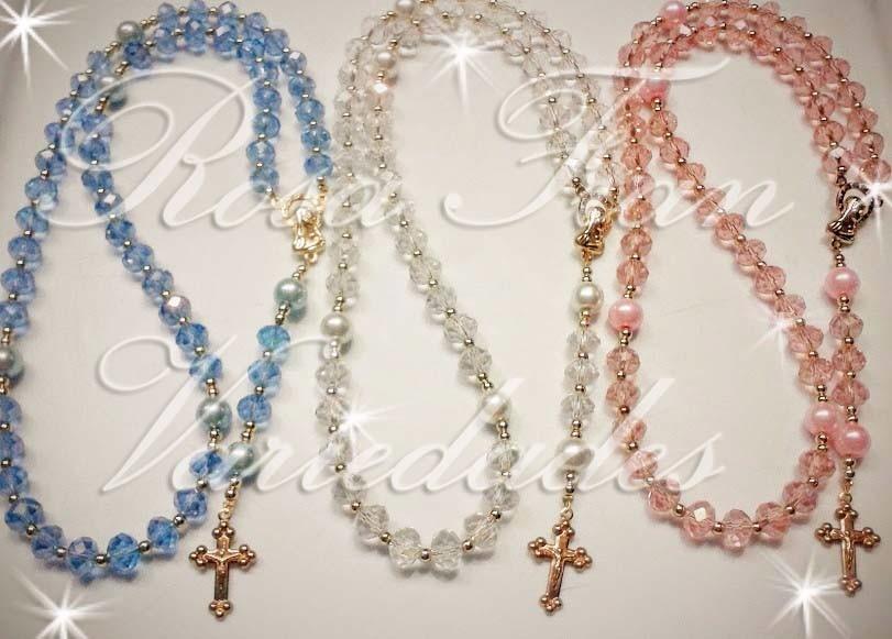 Bisuteria de perlas y cristales