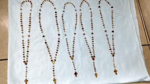 rosario de ámbar de chiapas genuino