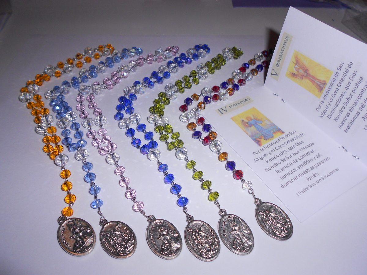 Rosario De Los Ángeles O Coronilla De San Miguel Arcangel