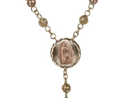 rosario de oro berumen de 10 quilates pm-8600013