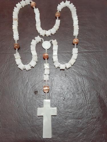 rosario de piedra onix