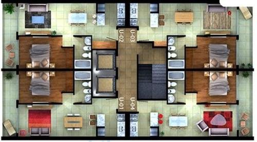 rosario departamento 1 dormitorio contrafrente balcón nuevo