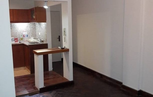 rosario departamento 2 dormitorios frentista balcón. bañera,