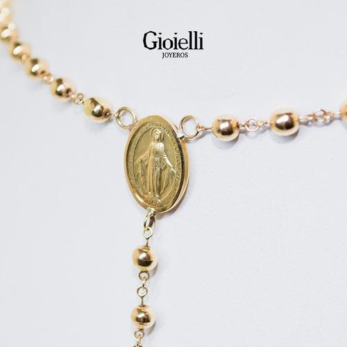 rosario en oro 18k