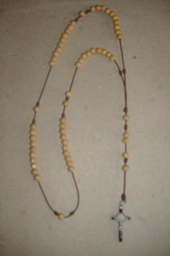 rosario en semillas ''aya12''