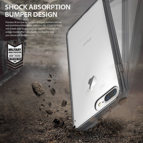 rosario funda ringke fusion ® original iphone 7 plus 5.5''