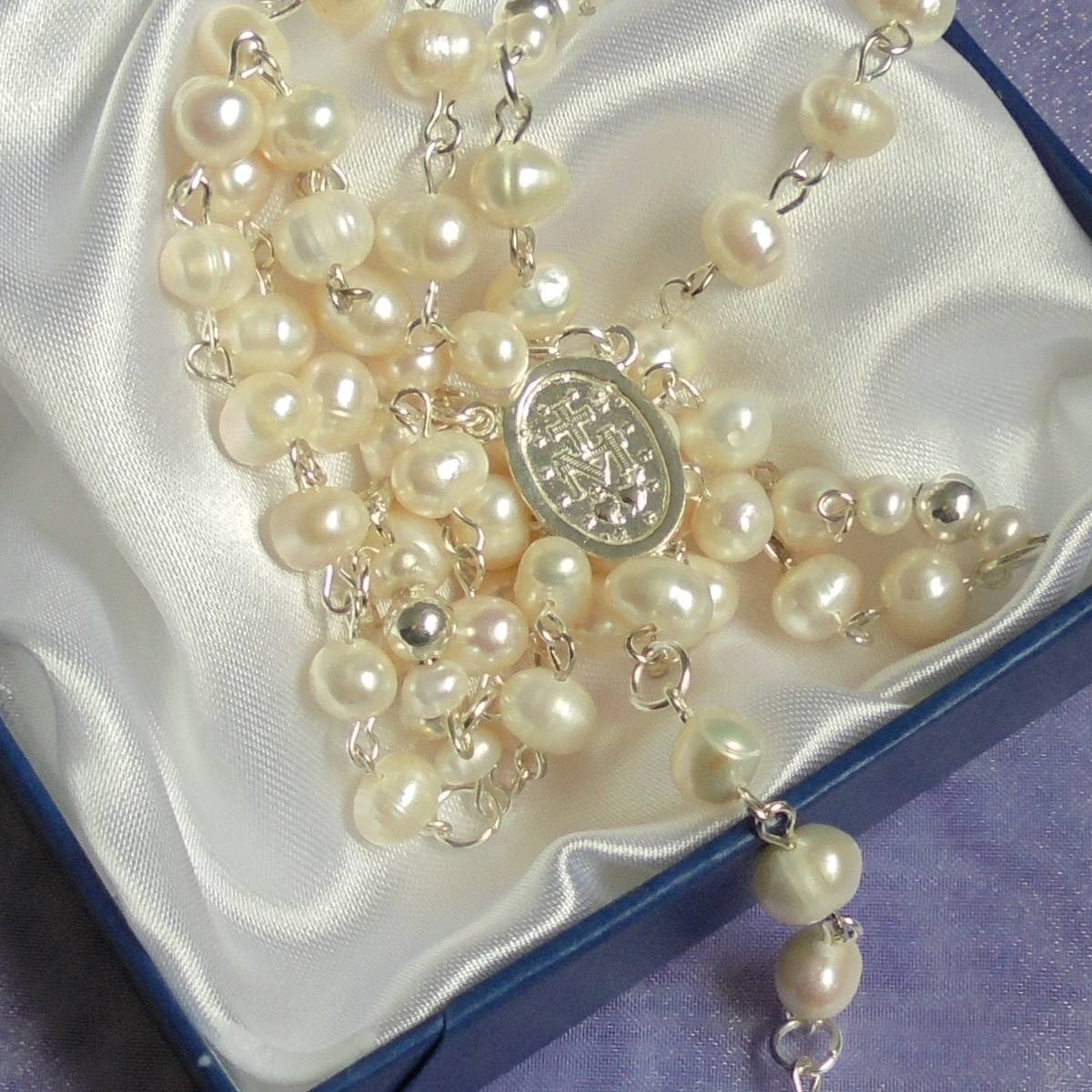73a09e616025 rosario perlas naturales cultivadas y plata 925. Cargando zoom.