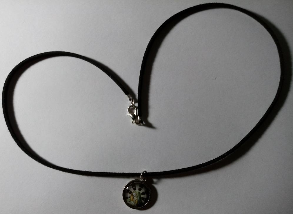 8e69119fa561 Rosario San La Muerte Artesanal- Collar Shocker 50 Cm -   280