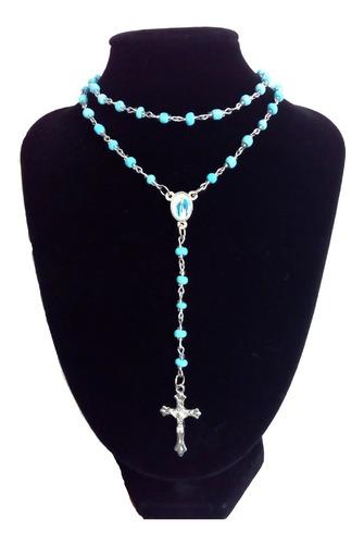 rosarios-católicos-camándulas 2019 al por mayor-color-verde