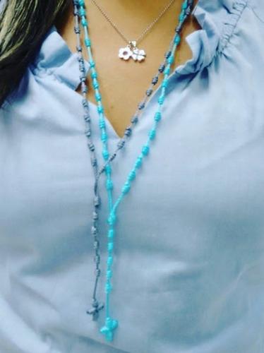 rosarios de hilo