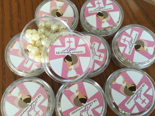 rosarios recuerdos personalizado comunión 50 pz envío gratis