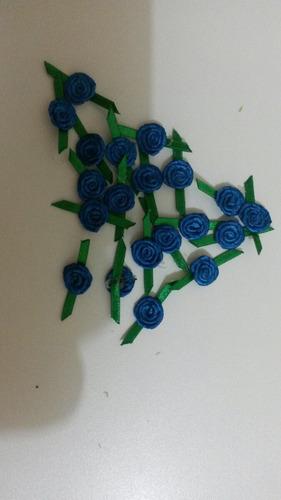 rosas 1 cm com folha no meiopct c/50 un.frete un.