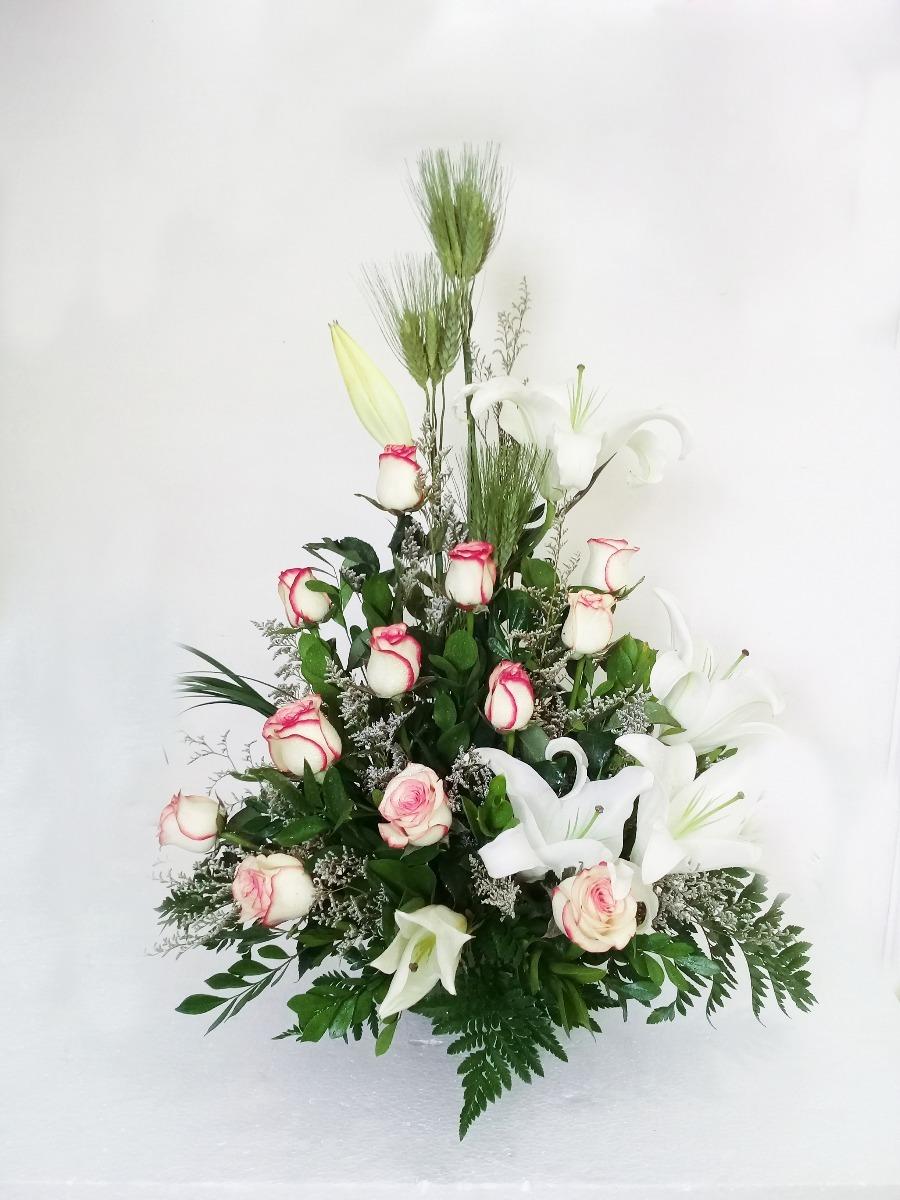 Rosas Arreglos Florales Flores Lilium